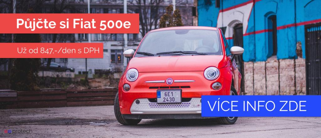Půjčte si nejlevnější elektromobil do města!
