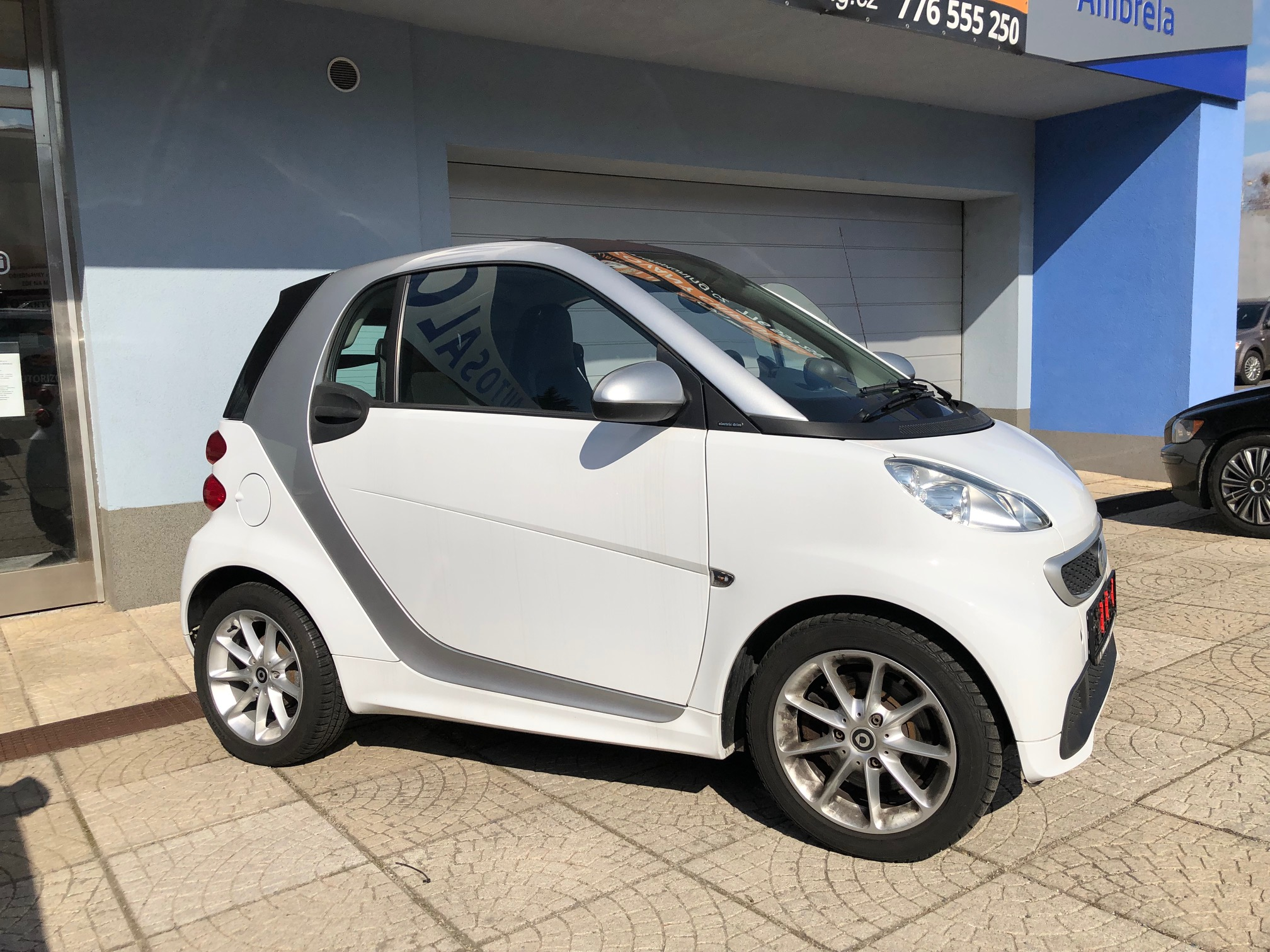 Smart Electric Drive 2 – bílá